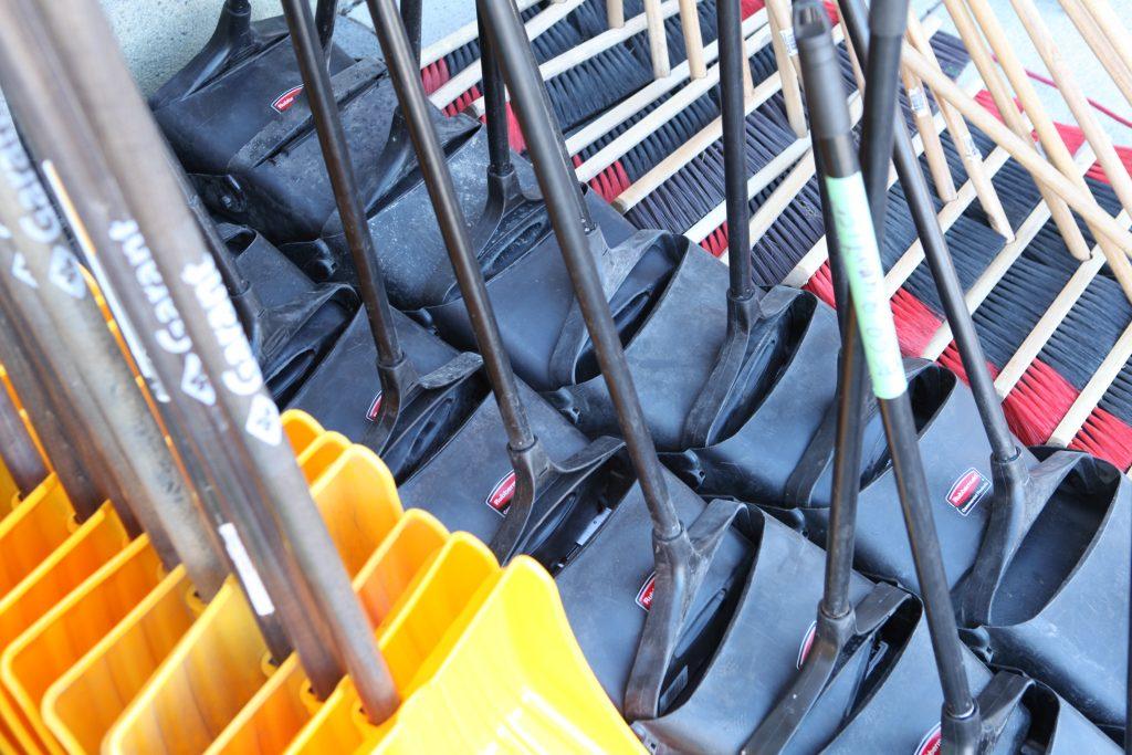 Équipement de corvée de nettoyage