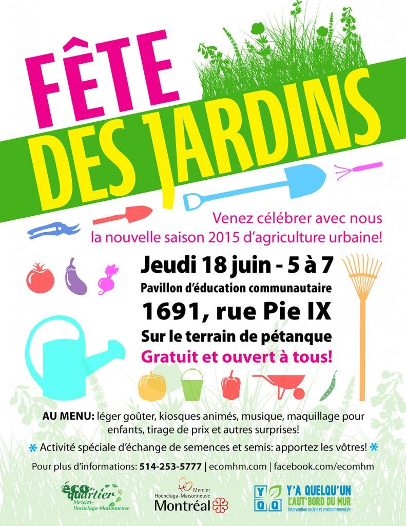 F te des jardins 2015 co quartier mercier hochelaga for Jardin des nobles 2015