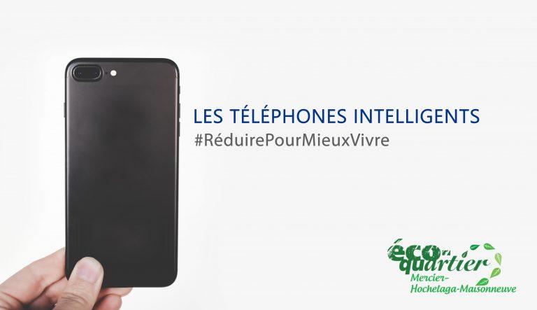 visuel pour article téléphones intelligents campagne #reduirepourmieuxvivre
